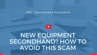 New equipment vs Secondhand Blog Freature